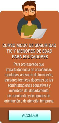 MOOC Seguridad TIC y menores para educadores Professor, Safety