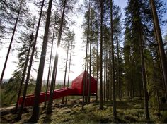 Treehotel The Blue cone, Harads
