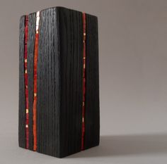 Bloc Wooden Stump Red Stumps as art furniture or sculptures Wood Mosaic, Mosaic Art, Mosaic Glass, Stained Glass, Glass Art, Diy Arts And Crafts, Wood Crafts, Red Art, Pc Cases