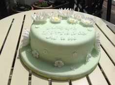 Birthday cake for my mum x