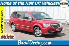Vehicles for Sale in Maquoketa, IA. View our Brad Deery Auto Group inventory to find the right vehicle to fit your style and budget! Chrysler Town And Country, Touring, Cars For Sale, Centre, Van, Vehicles, Leather, Vans, Vehicle