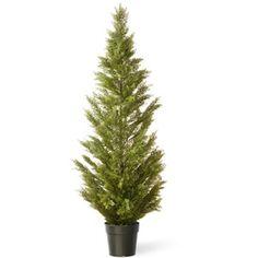 National Tree Co. Arborvitae Artificial Christmas Tree - Dark