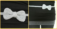 Bow belt crochet pattern - Gratis patroon riem met strikje haken