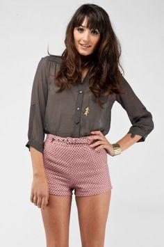 cotton candy bubblegum shorts