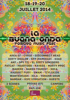 """Affiche pour le festival """"La Buena Onda"""""""