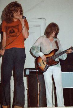 Robert Plant & John Paul Jones, August 18, 1969