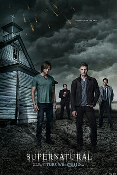 Supernatural (TV series, 2005 to present): Two brothers (Jensen Ackles as Dean Winchester and Jared Padalecki as Sam Winchester) fight different kinds of evil supernatural beings. Castiel, Supernatural Fans, Supernatural Jensen Ackles, Supernatural Poster, Crowley, Supernatural Pictures, Supernatural Wallpaper, Comic Con, Usa