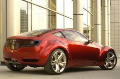 2006 Mazda Kabura concept car. As shown at 2006 NAIAS.