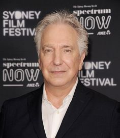 """Alan Rickman at the Sydney Film Festival in March 2015, supporting """"A Little Chaos"""""""