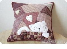 Patchwork sewing Entries in category Patchwork sewing needlework, . Sewing Pillows, Diy Pillows, How To Make Pillows, Decorative Pillows, Cushions, Throw Pillows, Patchwork Pillow, Quilted Pillow, Crazy Quilting