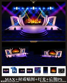 Best Design Exhibition Both Lights Ideas Tv Set Design, Stage Set Design, Church Stage Design, Concert Stage Design, Corporate Event Design, Stage Background, Backdrop Design, Exhibition Booth Design, Stage Decorations