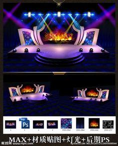 Best Design Exhibition Both Lights Ideas Tv Set Design, Stage Set Design, Church Stage Design, Concert Stage Design, Corporate Event Design, Stage Background, Exhibition Booth Design, Stage Decorations, Stage Lighting