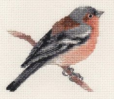 An Original counted cross stitch kit by Fido Stitch Studio. This is a counted cross stitch, i. This 'mini' stitch kit could be completed in a few hours. Small Cross Stitch, Cross Stitch Cards, Cross Stitch Animals, Modern Cross Stitch, Cross Stitching, Cross Stitch Pattern Maker, Counted Cross Stitch Patterns, Cross Stitch Designs, Cross Stitch Embroidery