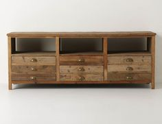 Anthropologie: Illusorio Console  Should go nicely with the driftwood concept at the lake house~