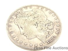 1881 United States Morgan Silver One Dollar $1 Liberty Coin