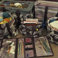 Thirty One for knitting & crochet