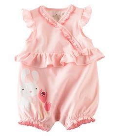 Pink Bunny RomperPink Bunny Romper