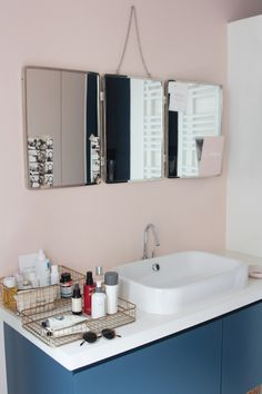 10 images formidables de salle de bains rose | Bathroom, Bathroom ...