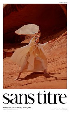 Xiao Wen Ju by Jumbo Tsui for Sans Titre Fall-Winter 2019 Ad Campaign - Minimal. Editorial Photography, Portrait Photography, Fashion Photography, Fashion Shoot, Editorial Fashion, Monument Valley, Mise En Page Web, Utah, Logos Retro