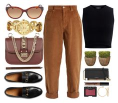 """""""Vintage"""" by jomashop ❤ liked on Polyvore featuring Valentino, Akribos XXIV, Miu Miu, Gucci, Theory, Burberry, Charlotte Russe, NARS Cosmetics, NYX and vintage"""