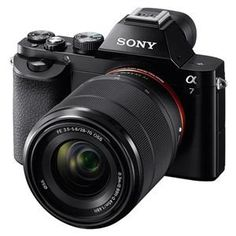 NEW FROM SONY! Sony A7: the world's smallest, lightest interchangeable-lens full-frame digital camera. Available for pre-order now!