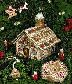 Gallery.ru / Фото #2 - Victoria Sampler Gingerbread Stitching - asdfgh2