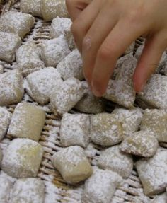 Pebber nodder (Danish Christmas Cookies)...made these this year.  Super easy and yummy too!...S