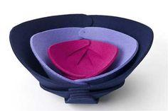 Michael-yaffe-felt-bowls