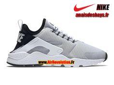 41f2501939486 Boutique Officiel Nike Air Huarache Ultra Homme Blanc Noir Blanc 819151-100H  Homme