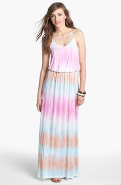 Lush Knit Maxi Dress (Juniors) available at #Nordstrom