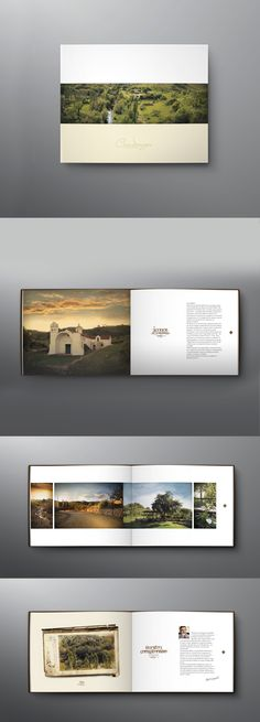 Diseño de libro/brochure para proyecto inmobiliario en Candonga. Córdoba.