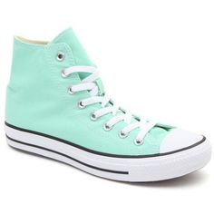 f3e148dd8f095 Converse Chuck Taylor All Star Mint Hi Top Sneakers Mint Green Shoes, Green  Sneakers,