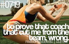 To prove that coach that cut me from the team, wrong. #juliomedina #fitness #workout #motivation #reasonstobefit #shakeology #p90x
