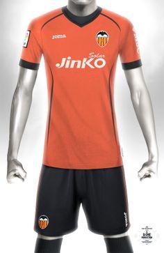 Conceptual kit design - Valencia Away