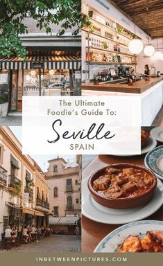 Seville Food Guide: Where to eat in Seville and what to order. Foodie's Guide to Seville. Food to eat in Seville Spain. Local restaurants in Seville. Spain Travel Guide, Europe Travel Tips, European Travel, Travel Guides, Overseas Travel, Travel Abroad, Travel Goals, Seville Spain, Best Places To Eat