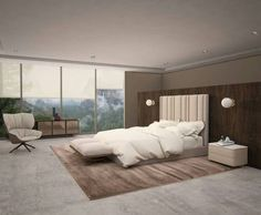 Lavish bedroom tende