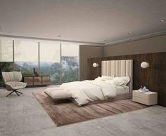 Lavish bedroom tende