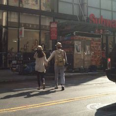 NYC street style.