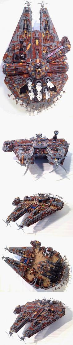 LEGO Steampunk Millenium Falcon