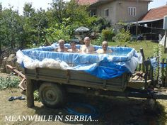 Meanwhile in Serbia..... they were determined..... :-D