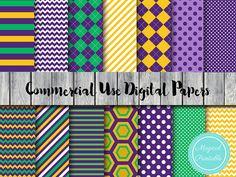 mardi gras Digital Paper Instant Download Digital by MagicalStudio