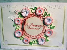 of March is celebrated in Romania as the day of spring - Martisor 1st Day Of Spring, Quilling Cards, Romania, March, Blog, Blogging, Mac