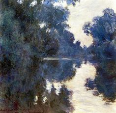"fravery:  "" Claude Monet Morning on the Seine 1896  """