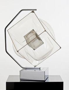 "b22-design: ""'Life of it's Own' - 1972 - motorized scuplture made of plexiglas Aaronel deRoy Gruber (1918-2011) """
