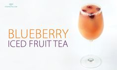 <p>Blueberry Iced Fruit Tea  Ingredients ½ cup brewed and chilled Blueberry Bellini Fruit Tea ¼ cup orange juice ¼ cup cranberry juice ½ cup cream soda Blueberries Instructions Blend together and pour into a tall glass of ice. Top off with blueberries and enjoy! 3.2.1255 </p>
