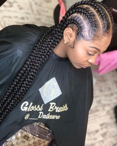 Criss-Cross Goddess Braids - 70 Best Black Braided Hairstyles That Turn Heads in 2019 - The Trending Hairstyle Box Braids Hairstyles, My Hairstyle, Girl Hairstyles, Black Hairstyles, Summer Hairstyles, Curly Hair Styles, Natural Hair Styles, Feed In Braid, Braids With Weave