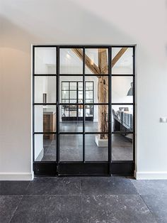 Glass door = Open Plan + Deliniation & Soundproofing when you want it