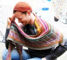 Stephen West's Metalouse Shawl...free pattern on Knitty.