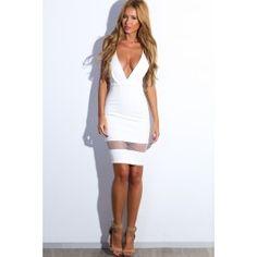 Beautiful People Dress White