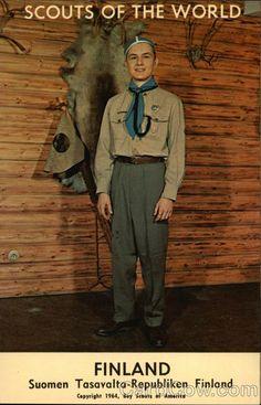 Scouts of the World: Finland (Suomen Tasavalta-Republiken Finland)
